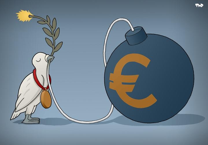 EU wins Nobel Peace Prize.