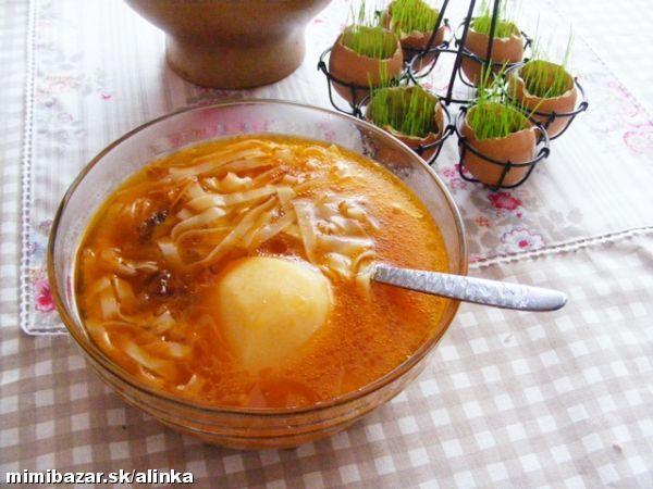 Pravá liptovská kyslá polievka