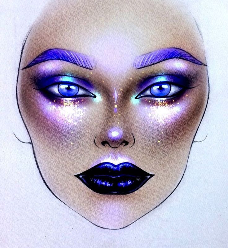 "9,454 Likes, 34 Comments - Sergey X (@milk1422) on Instagram: ""#artist@milk1412 ✨ #mylove #myart #myartistcommunity #myartistcommunityrussia #makeup #makeupart…"""