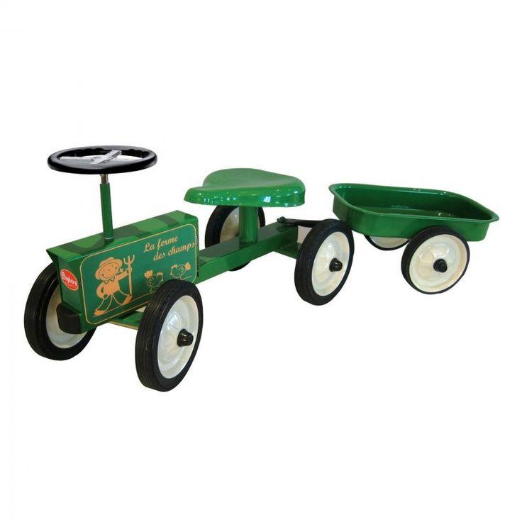 Porteur tacteur et remorque baghera tracteur pour b b - Remorque tracteur enfant ...