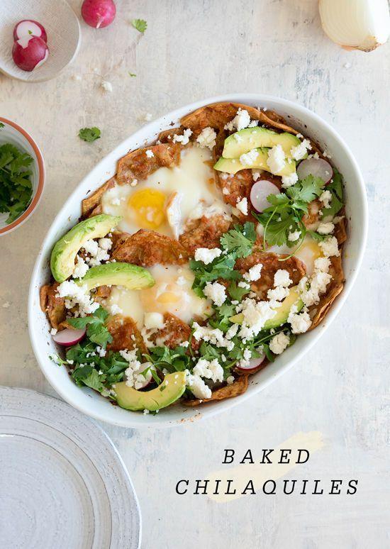 baked chilaquiles recipe yummm