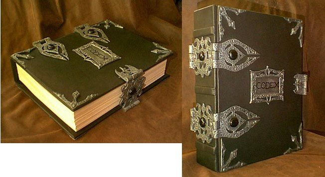 A Beautiful Davinci Codex Grimoire Pagan Bos
