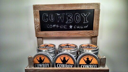 Cowboy Coffee Chew Retail Convenience Store or Coffee Shop display