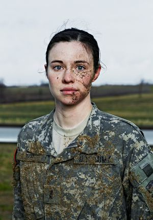 Staff Sergeant Leigh Ann Hester military police, Army National Guard Ambushed by enemy forces in Salman Pak, eastern Iraq, on March 20, 2005. Awarded a Silver Star, the nation's third-highest military decoration for valor—the first female recipient since World War II and the first to earn it for close-quarters combat.