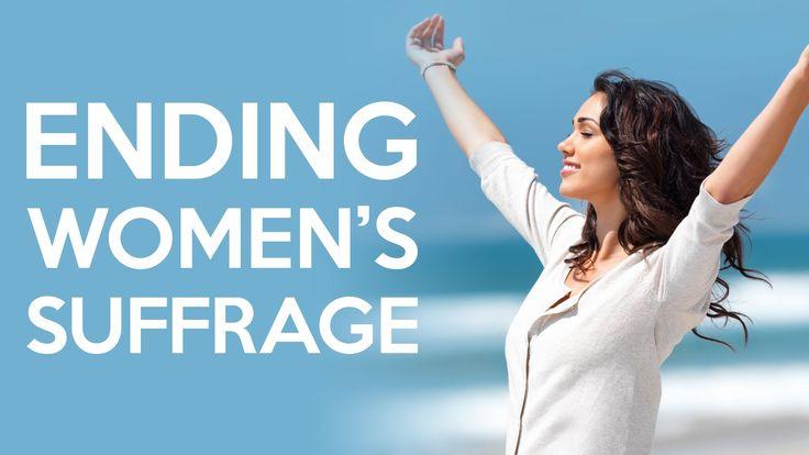 Youtube Gender Studies Women In History Suffrage