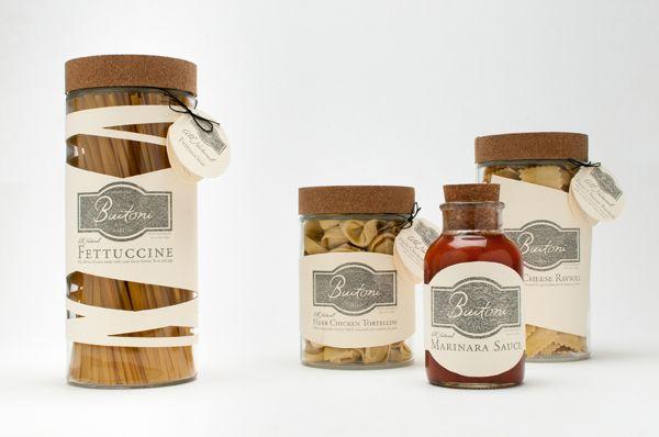 pasta packaging - pâte - Buitoni by Jen Sammarco, via Behance