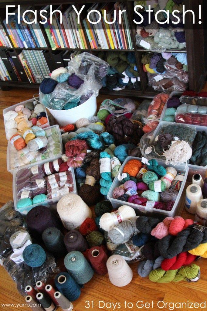 Knitting Supplies Storage Ideas : Best images about knit crochet storage