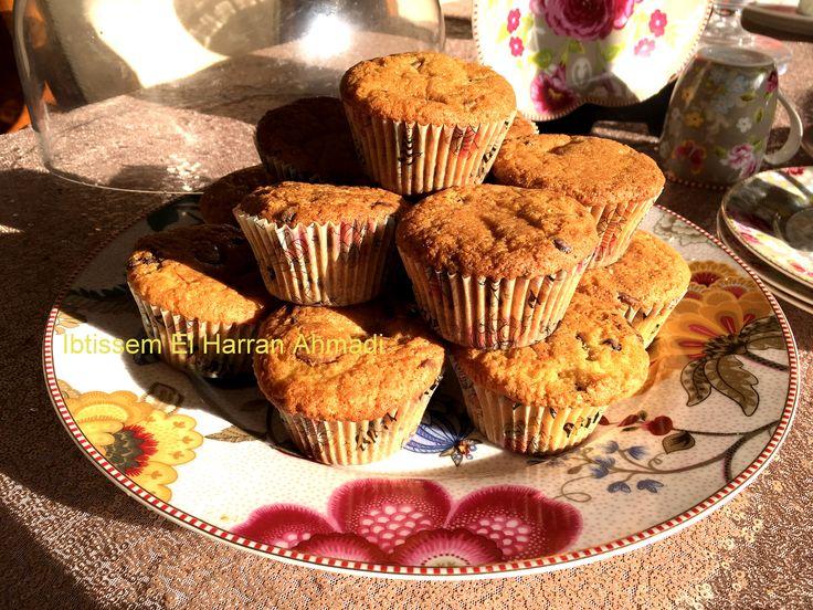 Recette très facile de Muffins aux pépites de chocolat Hier, j'ai été prise d'une folle envie de Muffins aux chocolats. Je vous propose une recette au top très facile à réaliser, en 25 minutes vos muffins sont prêt la voici