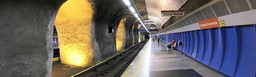 Metrô Rio metrorio Estação Cardeal Arcoverde Copacabana 1/2 panorâmico