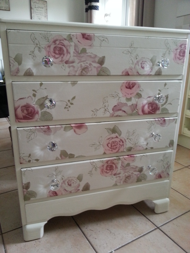 Beautiful old draws refurbished..using craig n ros…