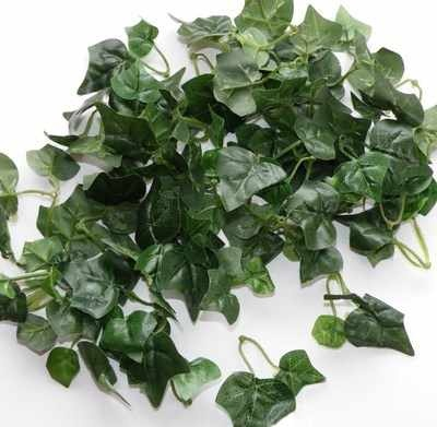 Silk Artificial Ivy Foliage Leaves Green 100+