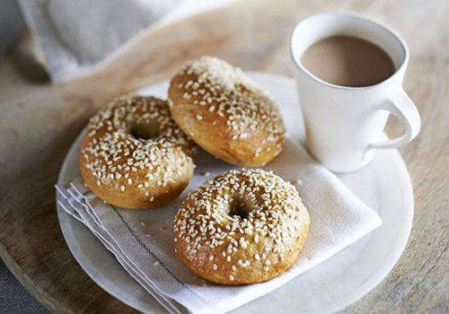 Edd Kimber shares his foolproof recipe for perfect bagels.
