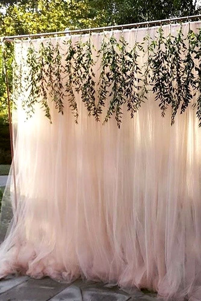 Best 25 tulle backdrop ideas on pinterest bridal shower for Back ground decoration
