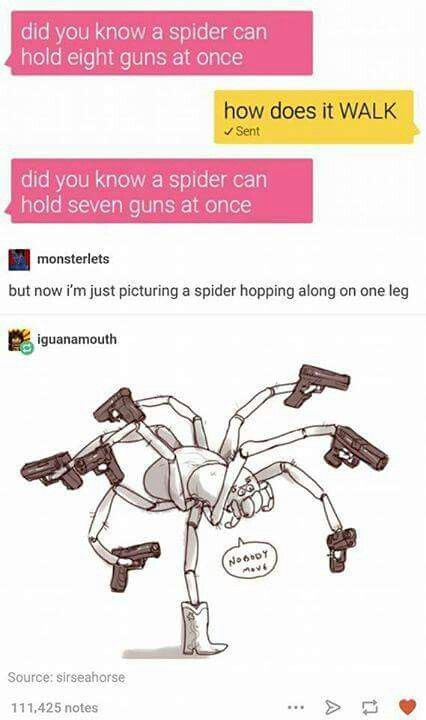 Spiders, tumblr funny #RePin by AT Social Media Marketing - Pinterest Marketing Specialists ATSocialMedia.co.uk