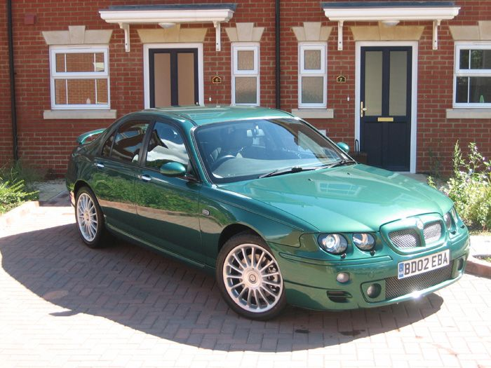 MG ZT190+ in Le Mans Green