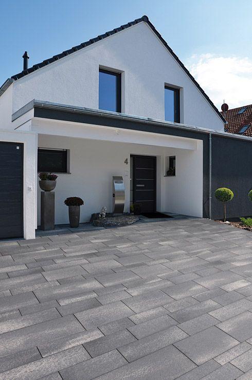 Moderne einfahrten einfamilienhaus  Die besten 25+ Einfahrt gestalten Ideen auf Pinterest | Vorgarten ...