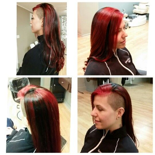 how to use red protein filler when dying hair