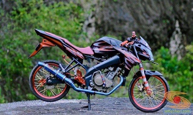 Modifikasi Yamaha Vixion 2012 Di 2020 Gambar Motor Galeri