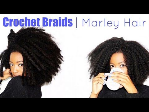 Crochet Braids Delaware : Crochet Braids With Marley Hair - YouTube