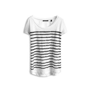 white tee sequin stripes - Google Search