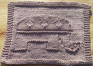 Elephant Washcloth Knitting Pattern : Knit dishcloth, Knit dishcloth patterns and Dishcloth on ...