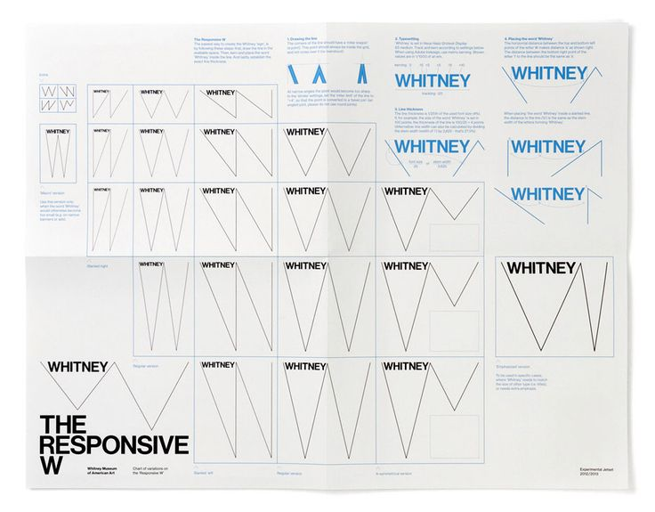 Whitney Museum of American Art / Experimental Jetset   Design Graphique