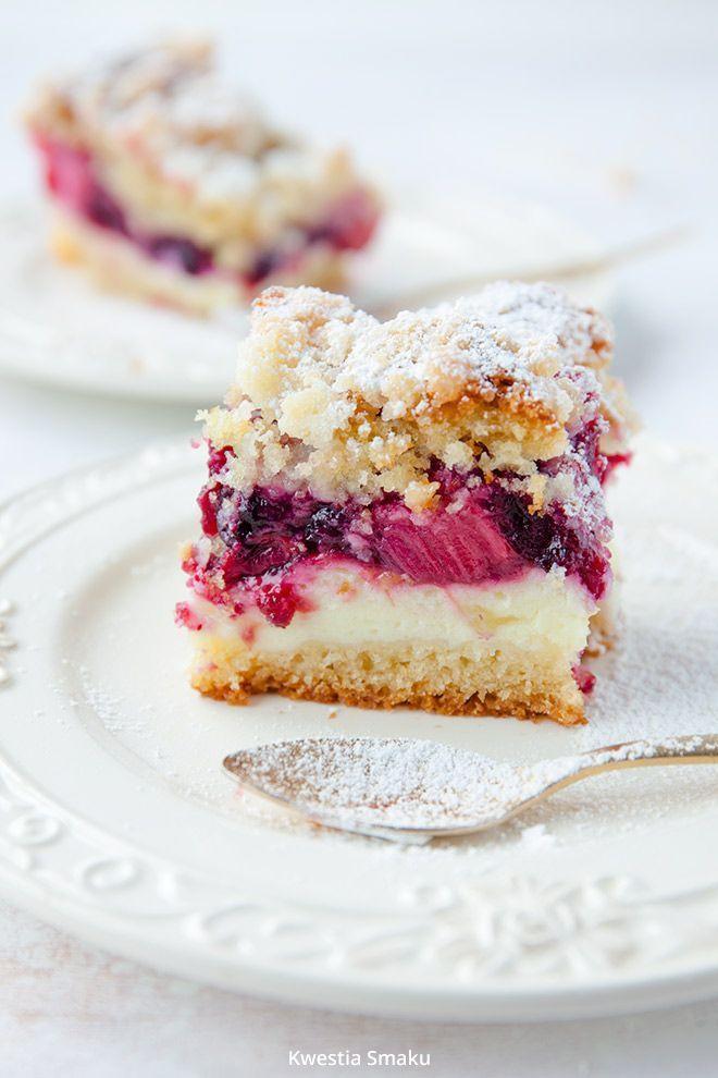 rhubarb cake//