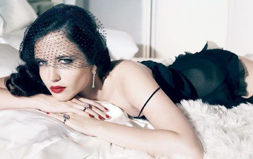 French-born actress Eva Green, at Sunbeam Studios, London. Photograph by Patrick Demarchelier.