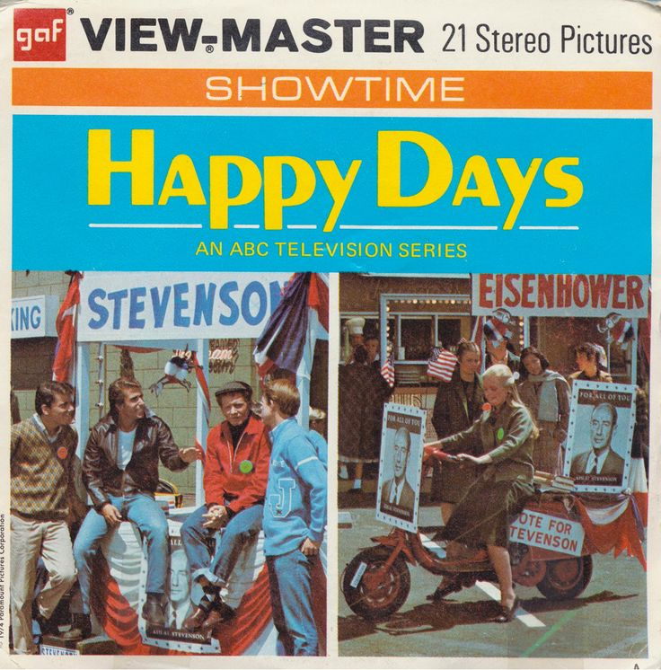 1974 Happy Days View-Master Reel