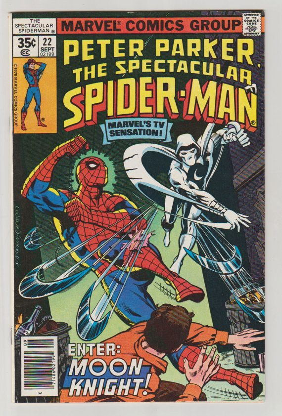 Spectacular Spider-Man Vol 1 22 Comic Book. by RubbersuitStudios #spiderman #moonknight #comicbooks
