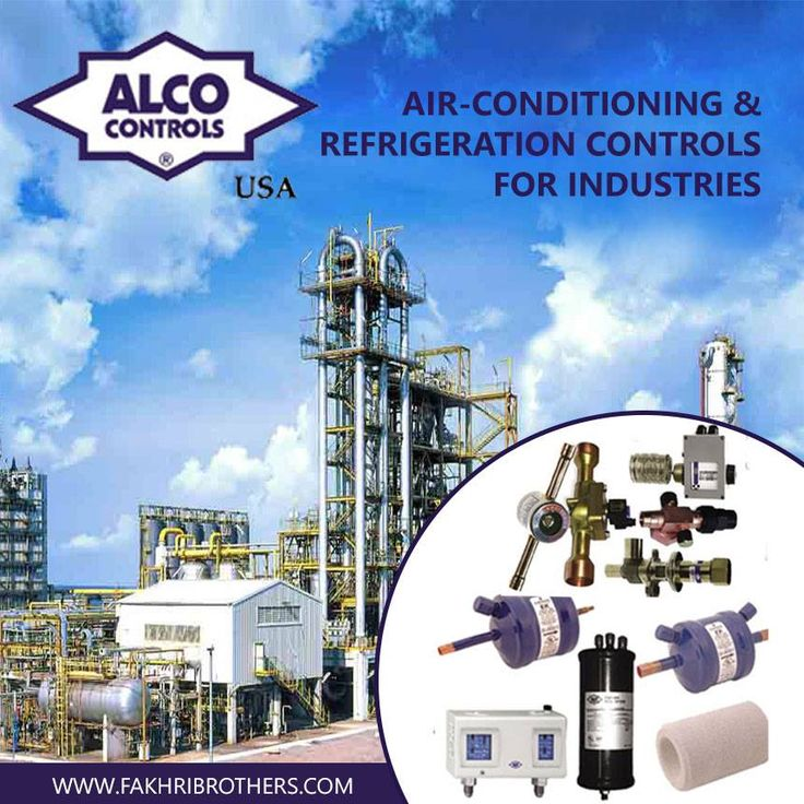 Air Conditioning and Refrigeration Controls for Industries