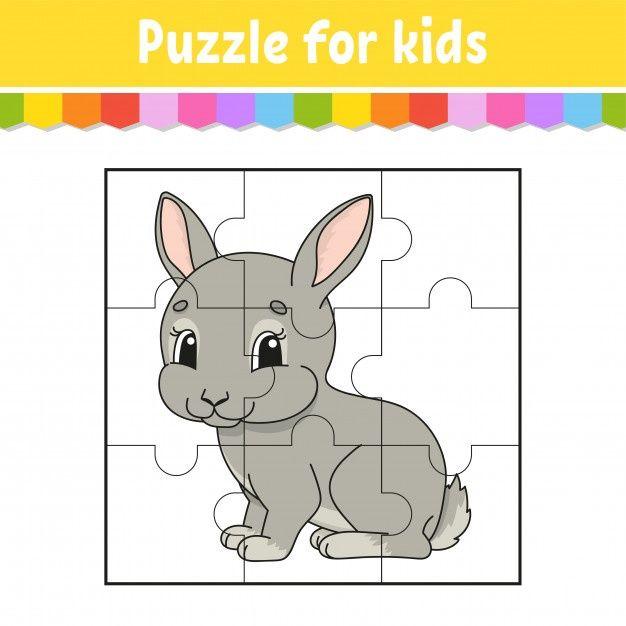 Jogo De Quebra Cabeca Para Criancas Pecas De Quebra Cabecas Planilha De Cores Puzzles Para Criancas Quebra Cabeca Para Crianca Jogos Educativos Para Criancas