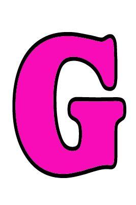 Letra G mayúscula. Imagen animada.   El Alfabeto con sus ...