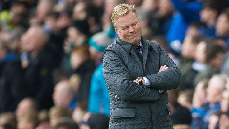 Everton Resmi Pecat Ronald Koeman Dari Posisi Pelatih Utama Tim