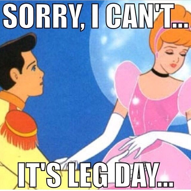 You know you're not skipping leg day, no matter who asks!