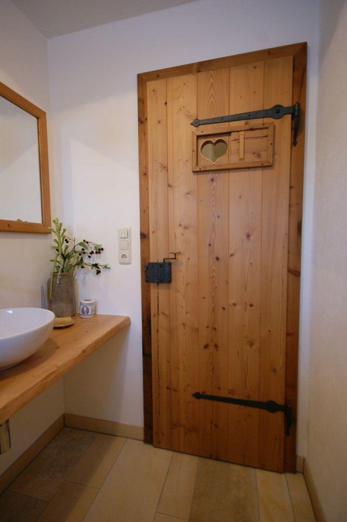 Individuelle Haustüren oder Zimmertüren aus Echtholz – Schreinerei Thaler & Staudinger