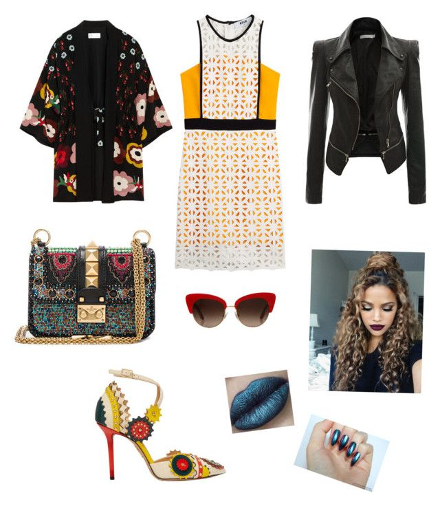 """Kreativ -rockig"" by sandrajohansson-2 on Polyvore featuring MSGM, Valentino, Charlotte Olympia, Dolce&Gabbana and RED Valentino"