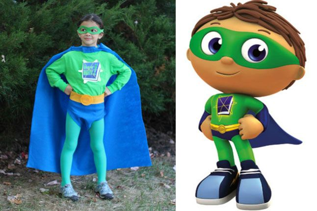 No-Sew Super Why Costume: Video - http://www.pbs.org/parents/crafts-for-kids/no-sew-super-why-costume-video/