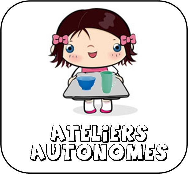 ateliers autonomes Montessori