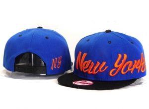Casquette NY New York Yankees MLB Snapback Bleu Noir : Casquette Pas Cher