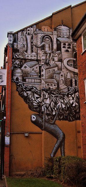 Beyond Banksy Project / Phelgm - Sheffield