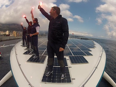These guys traveled the world with only Solar power. AMAZING... via http://www.facebook.com/PlanetSolar