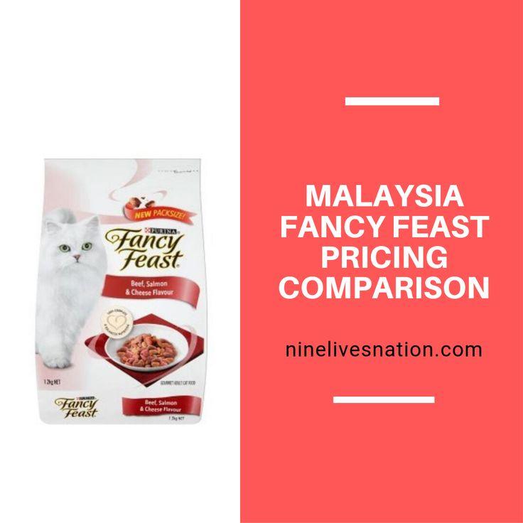 Malaysia fancy feast pricing comparison fancy feast cat