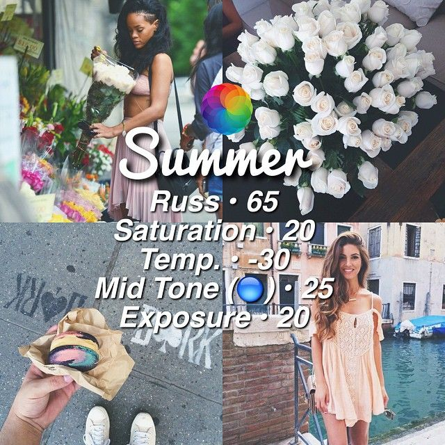 ↠ Bright Summer Filter! ☀️ ↠ Looks Best With - Anything! ↠ Theming - 5/10 Not that good but you can make it work if the photos have the same colors in it. ↠ QOTD - Favorite song at the moment?