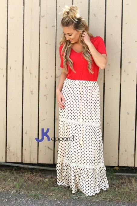"""Cool For The Summer"" Maxi Skirt"