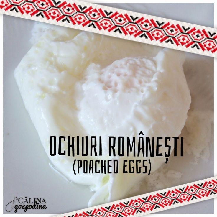 Ochiuri românești (poached eggs)