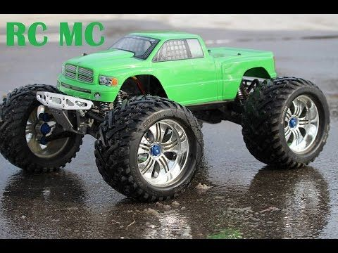 "RC MC- Traxxas E-maxx Brushless Edition "" Painters Nightmare"""