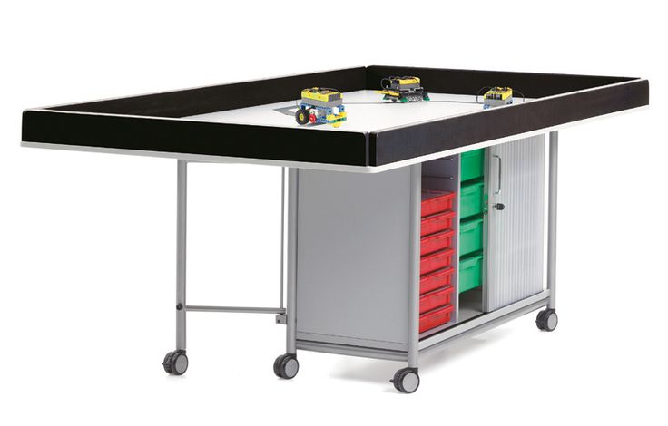 Series 600 First-Lego-League (FLL) mobile storage.  vs-furniture