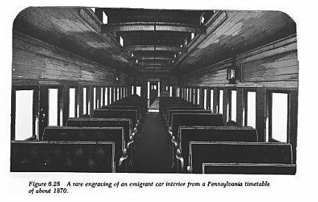 passenger train car interior 1870 train travel in the 1800 39 s pinterest d interiors and cars. Black Bedroom Furniture Sets. Home Design Ideas