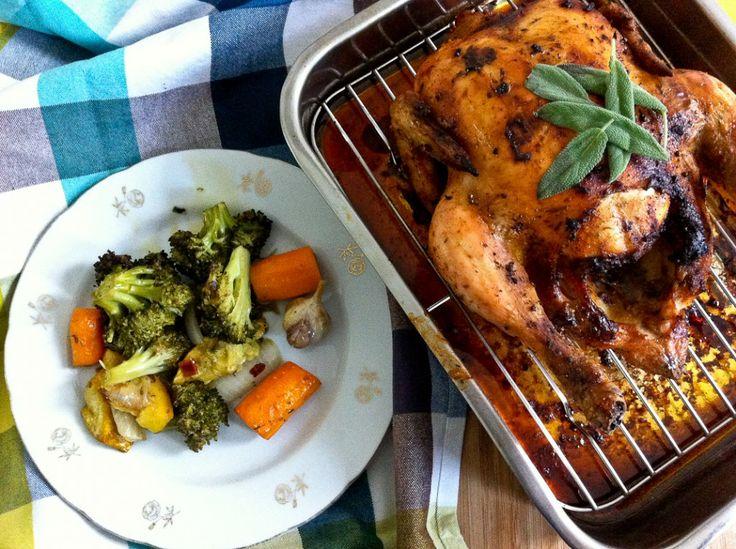 Kurczak z szałwią i wędzoną papryką